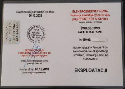 certyfikat uprawnien gazowych 01 400x284